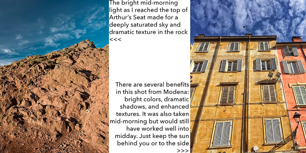 photography tips for bright light