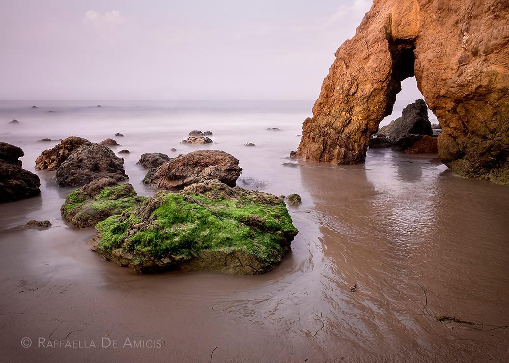 el matador beach malibu california long exposure