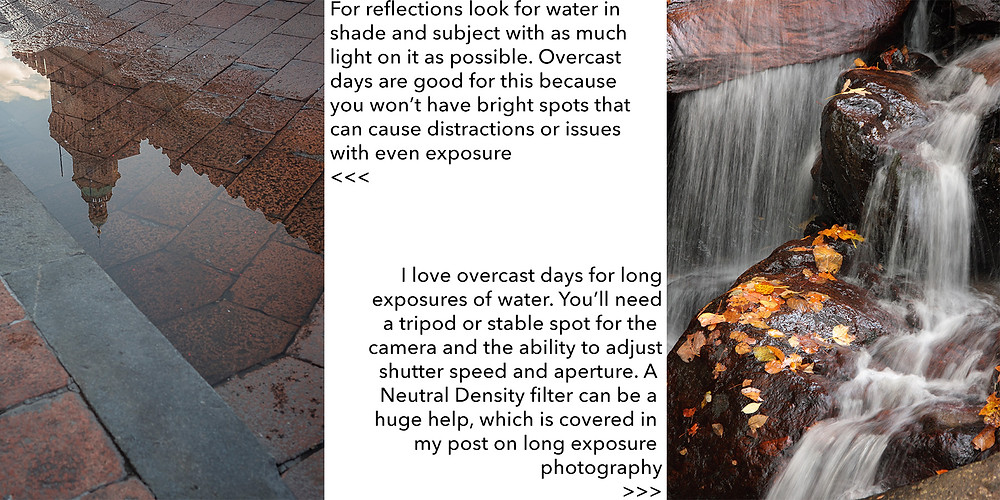 tips for photography on cloudy days