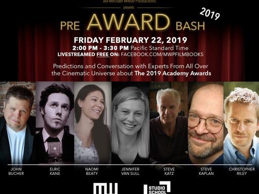 MICHAEL WIESE PRODUCTIONS & STUDIO SCHOOL – LOS ANGELES PRESENTS 2019 PRE-AWARDS BASH