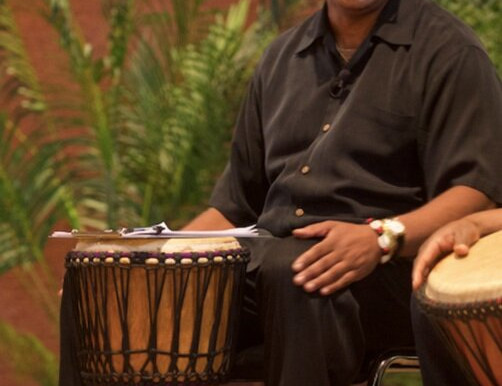 LEFT EYE- The Exploration of African Myth: Drumming and Storytelling with Dr. Kwame Scruggs