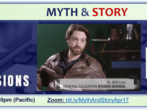 Myth & Story – Student Television Network Pro Session with Will Linn