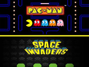 Pac man & Space Invaders