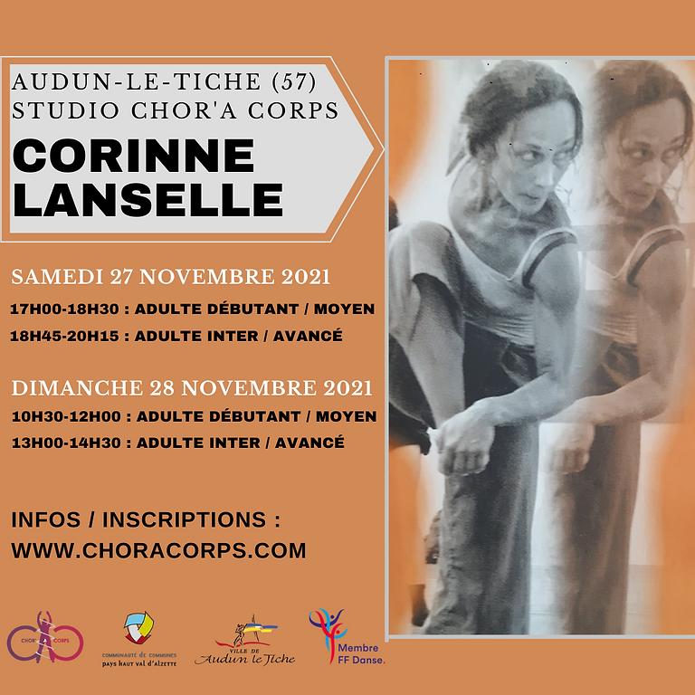 Stage de Danse Contemporaine avec CORINNE LANSELLE