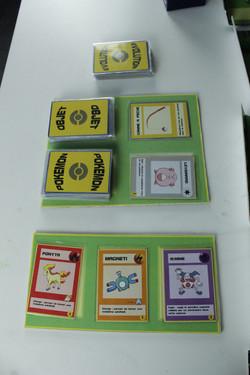 Disoposition des cartes