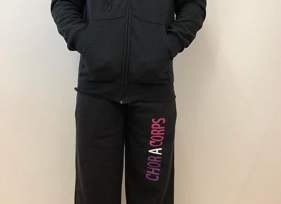 Ensemble homme : veste à capuche + pantalon unisexe
