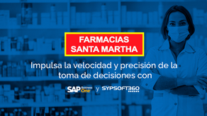 Farmacias Santa Martha impulsa la velocidad de la toma de decisiones con SAP B1 y Sypsoft360