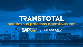 Transtotal acelera sus procesos operativos con SAP Business One y Sypsoft360