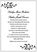 Katelyn & Steve Wedding Invitation Sampl