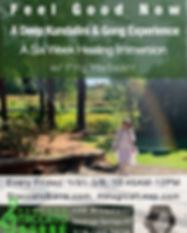 2020 Kundalini healing immersion  - Gree