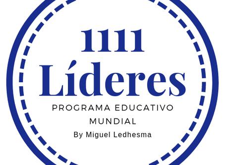 Miguel Ledhesma presenta 1111 Líderes
