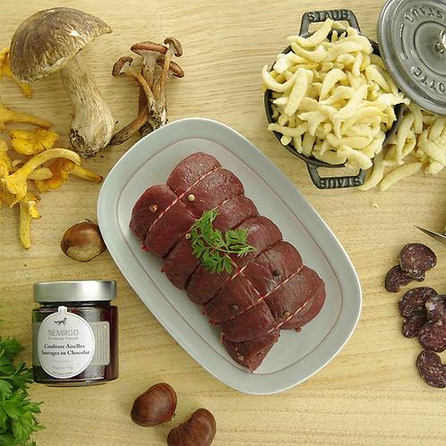 Le dîner du Chasseur - Colis apéro & diner - Coffret 2 Nemrod
