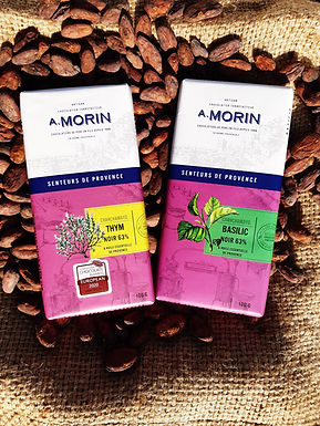 Lot Tablettes Huiles Essentielles - Chocolat A.Morin