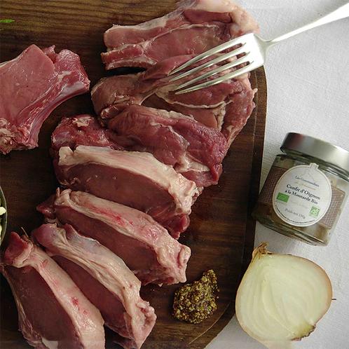 Box à cuisiner : Côtelettes de Sanglier, spaeztle et confit d'oignons - Nemrod