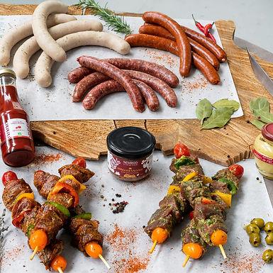 Coffret Barbecue Nemrod Mixte - 18 pièces et Condiments