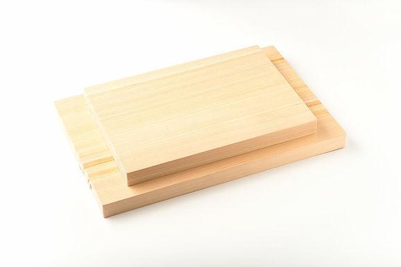 Planches en Hinoki (2 tailles au choix) - Couteaux japonais DOMA