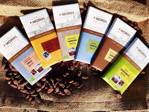Lot Noir Pure Origine - Chocolat A.Morin