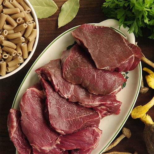 Box à cuisiner: Entrecôte de Cerf, pâtes semi-complètes, sauce forestière Nemrod