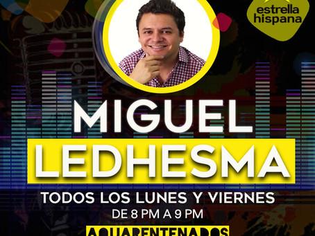Miguel Ledhesma estrena Aquarentenados, nuevo programa de radio
