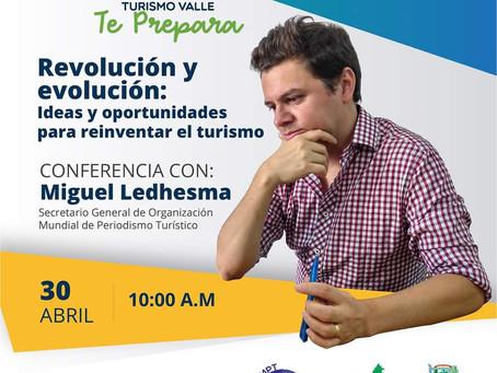 """Nuevo webinar """"Revolución y evolución: ideas y oportunidades para reinventar el turismo"""""""