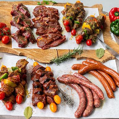 Coffret Barbecue Nemrod Mixte - 32 pièces (10 personnes)