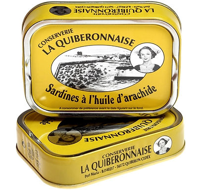 Sardines à l'huile d'arachide - Sardines La Quiberonnaise