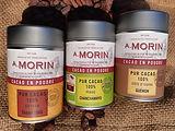 Lot Poudres de cacao - Chocolat A.Morin