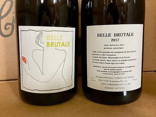 Cidre Belle Brutale 75 cl - Cidrerie du Vulcain