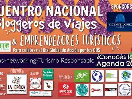 """Miguel Ledhesma presenta """"¿Por qué viajo?¿Por qué viajas?"""" en el Encuentro de Acción por los ODS"""