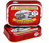 Sardines millésimées à l'huile d'olive vierge extra - Sardines La Quiberonnaise