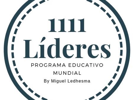 """Inscripciones abiertas para el curso y programa internacional """"1111 Líderes"""""""