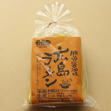 Ramen porc tonkatsu et sauce soja Hiroshima - Japan Week