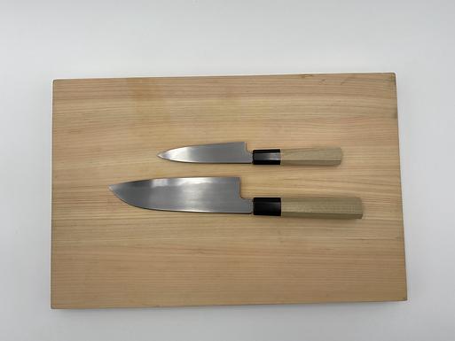 Set Couteaux Takumi Santoku + Office - Couteaux japonais DOMA