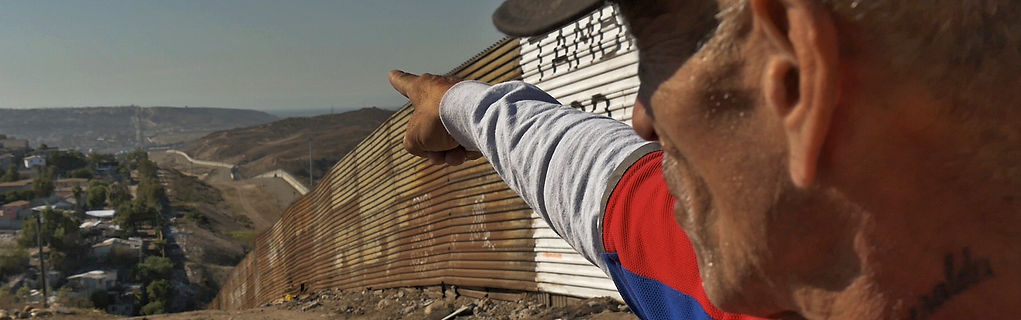 Tijuana Mexico wall migrants deportees