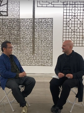 Ideas and Techniques Behind 'Tears of Paradise': In Conversation with Mark Rappolt for ArtReview