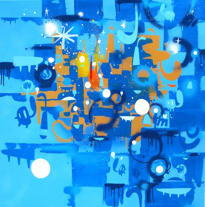 Blu Oltremodo (Extremely Blue)