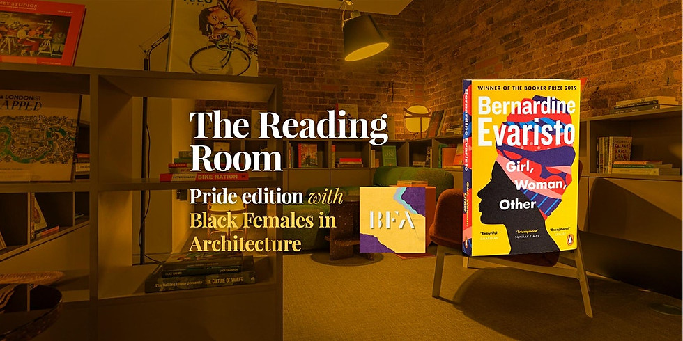 The Reading Room - Pride edition, hosted by BFA