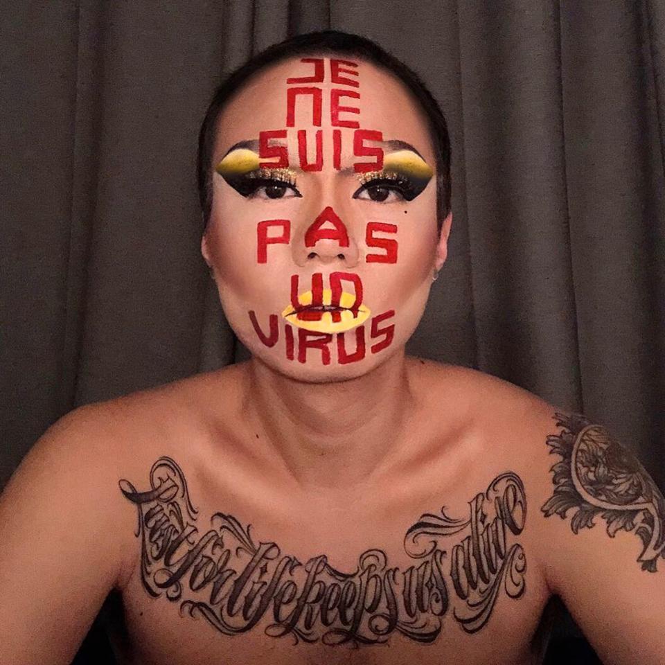 Charlie Chen, #JeNeSuisPasUnVirus