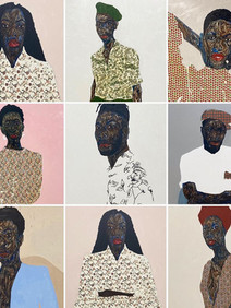 Art: Amoako Boafo at Mariane Ibrahim Gallery Chicago