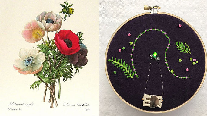 CREATE YOUR OWN BOTANICAL EMBROIDERY
