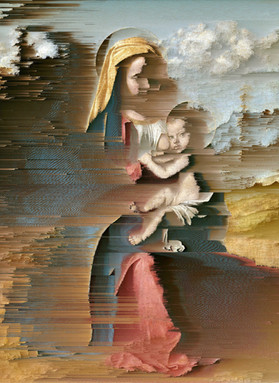 New Print! 'Madonna and Child' for #ArtistSupportPledge (50% to Trussell Trust)