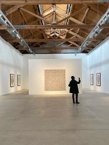 Art: McArthur Binion at Richard Gray Gallery