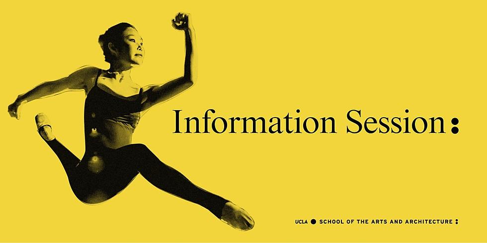 UCLA Arts Virtual Information Session