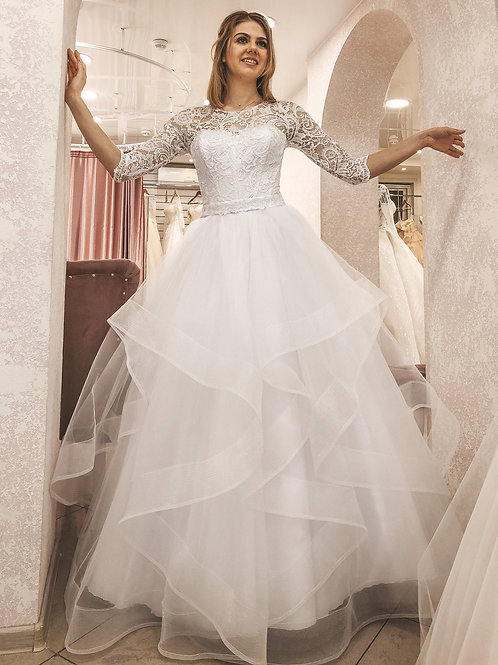 Свадебное платье Патрисия рукав