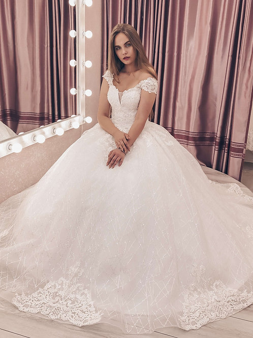 Пышное свадебное платье GREMMI СВАДЕБНОЕ ПЛАТЬЕ ВОРОНЕЖ