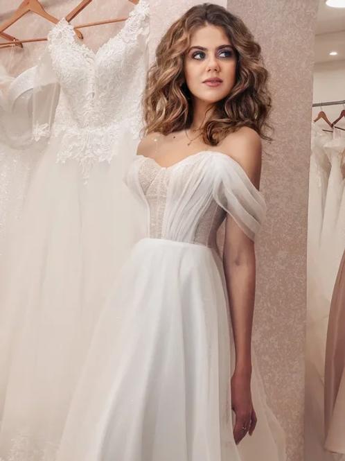 Свадебное платье Бюстье