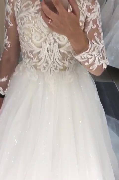 свадебное платье Дженифер видео