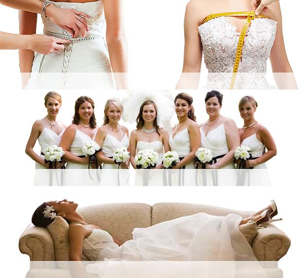 Невеста в свадебном салоне Липецк