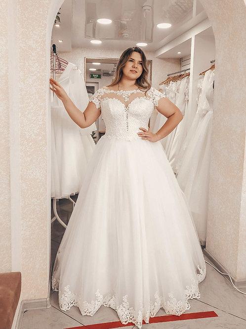 Свадебное платье Снежана 48-50