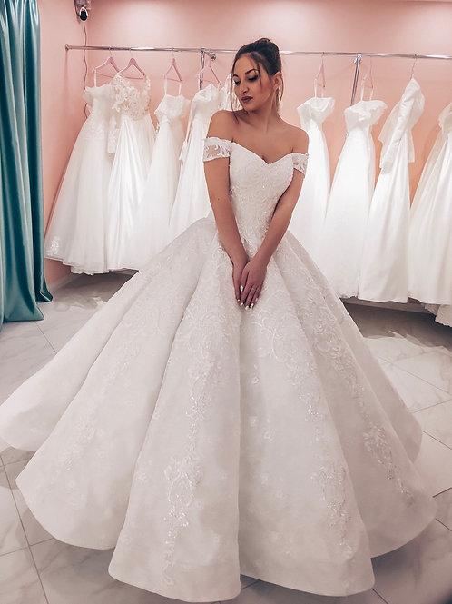 Свадебное платье Кекс